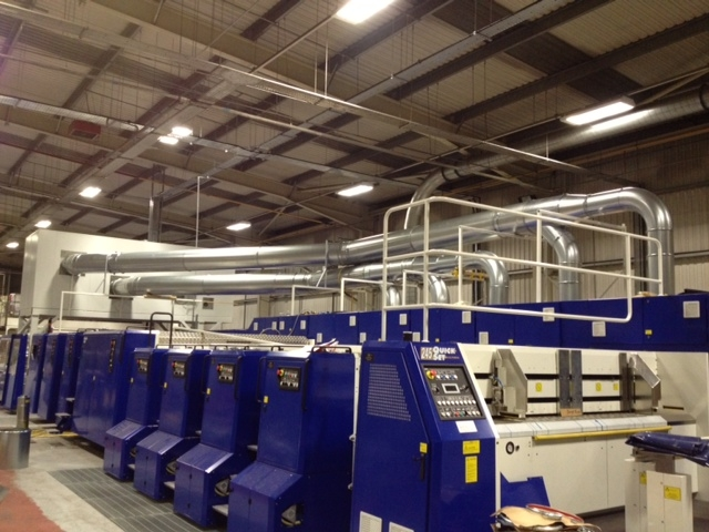 Our teamassisted EMBAto install a 1.5 million pound Casemaker intoBarnstaple to include pre-feeder and strapping machine.